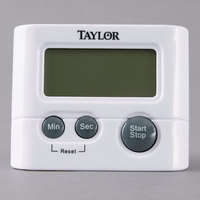 Taylor 5827-21 White Classic Digital Pocket Kitchen Timer