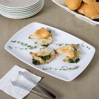 Elite Global Solutions JW7312 Zen 12 1/4 inch x 8 1/2 inch White Rectangular Platter