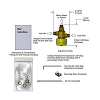 T&S 013729-45 Thermostatic Mixing Valve