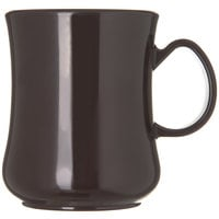 Carlisle 800401 Diablo 8 oz. Brown Mug - 36/Case