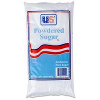 2 lb. Bag 10X Confectioners Sugar - 12/Case