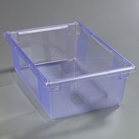 Carlisle 10622C14 StorPlus Blue Food Storage Box - 26 inch x 18 inch x 9 inch