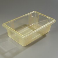 Carlisle 10611C22 StorPlus Yellow Food Storage Box - 18 inch x 12 inch x 6 inch