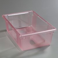 Carlisle 10622C05 StorPlus Red Food Storage Box - 26 inch x 18 inch x 9 inch