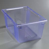 Carlisle 10623C14 StorPlus Blue Food Storage Box - 26 inch x 18 inch x 12 inch