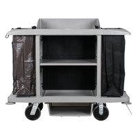 Rubbermaid 1969596 Platinum Full Size Housekeeping Cart (FG618900PLAT)
