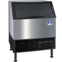 Manitowoc UD-0310W NEO 30 inch Water Cooled Undercounter Full Size Cube Ice Machine with 100 lb. Bin - 271 lb.