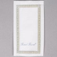 Hoffmaster 856505 Linen-Like 12 inch x 17 inch Regal 1/6 Fold Guest Towel   - 500/Case