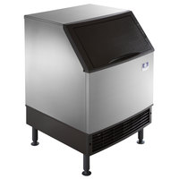 Manitowoc UY-0190A NEO 26 inch Air Cooled Undercounter Half Size Cube Ice Machine with 90 lb. Bin - 193 lb.