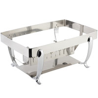 Bon Chef 20305ST Stainless Steel Stand for Rectangular Induction Chafer