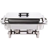 8 Qt. Stainless Steel Rectangular Chafer