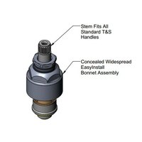 T&S 016767-25 Easy Install Right to Close Cerama Cartridge