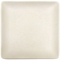 Elite Global Solutions ECO1111SQ Greenovations 11 inch Papyrus-Colored Square Plate - 6/Case