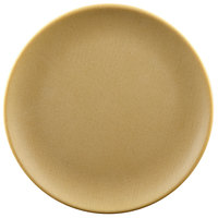 Elite Global Solutions ECO66R Greenovations 6 inch Rattan-Colored Round Plate - 6/Case