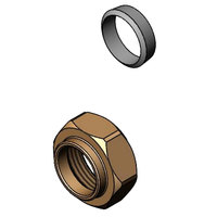 T&S 016745-45 Easy Install Center Faucet Compression Fitting and Nut