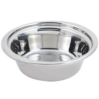 Bon Chef 5256 13 inch x 12 inch x 4 inch Stainless Steel 4 Qt. Plain Design Casserole Food Pan