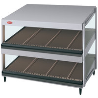 Hatco GRSDS-30D Glo-Ray 30 inch Slanted Double Shelf Merchandiser - 120V