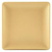 Elite Global Solutions ECO66SQ Greenovations 6 inch Rattan-Colored Square Plate - 6/Case