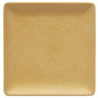 Elite Global Solutions ECO66SQ Greenovations 6 inch Rattan-Colored Square Plate
