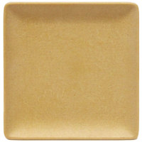 Elite Global Solutions ECO1111SQ Greenovations 11 inch Rattan-Colored Square Plate - 6/Case