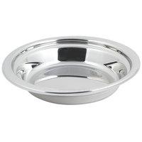 Bon Chef 5355 13 inch x 12 inch x 3 inch Stainless Steel 2.5 Qt. Bolero Design Casserole Food Pan