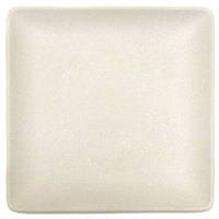 Elite Global Solutions ECO66SQ Greenovations 6 inch Papyrus-Colored Square Plate