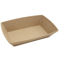 Elite Global Solutions ECO862 Greenovations 38 oz. Paper Bag-Colored Rectangular Bowl