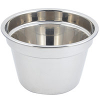 Bon Chef 5214 12 inch x 8 inch Stainless Steel 11 Qt. Plain Design Soup Inset
