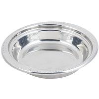Bon Chef 5455 13 inch x 12 inch x 3 inch Stainless Steel 2.5 Qt. Casserole Laurel Design Food Pan