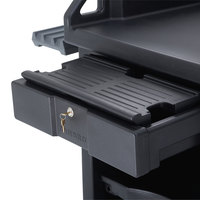 Cambro VCS32KEYT110 Black Versa Cart Keyboard Tray