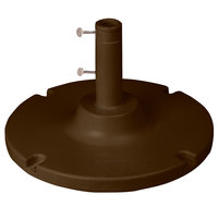 Grosfillex US600637 35 lb. Bronze Umbrella Base for Table Use