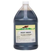 Fox's Root Beer Slush Syrup - 1 Gallon