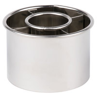Ateco 14422 2 1/2 inch Stainless Steel Doughnut Cutter (August Thomsen)