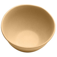 Elite Global Solutions ECO52 Greenovations 18 oz. Rattan-Colored Round Bowl - 6/Case