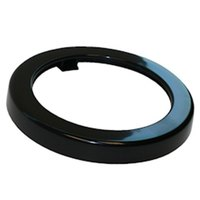 San Jamar X22TR Black Dispenser Trim Ring for 2 3/4 inch to 3 3/4 inch Diameter Cup or Lid Dispensers