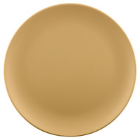 Elite Global Solutions ECO1111R Greenovations 11 inch Rattan-Colored Round Plate - 6/rattan col - 6/Case
