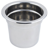 Bon Chef 5211 10 5/8 inch x 8 1/4 inch Stainless Steel 7 Qt. Plain Design Inset