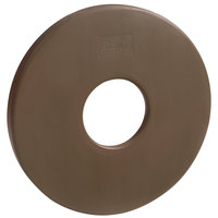 Grosfillex US601637 35 lb. Bronze Umbrella Base Ring