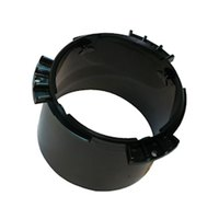 San Jamar X22MT Black Dispenser Mounting Ring for 2 3/4 inch to 3 3/4 inch Diameter Cup or Lid Dispensers