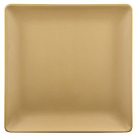 Elite Global Solutions ECO99SQ Greenovations 9 inch Rattan-Colored Square Plate - 6/Case
