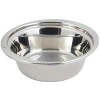 Bon Chef 5456 13 inch x 12 inch x 4 inch Stainless Steel 4 Qt. Casserole Laurel Design Food Pan