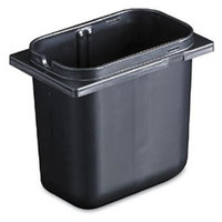 San Jamar P9700BK Black 2.5 Qt. Fountain Jar