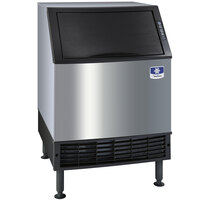 Manitowoc UR-0240A NEO 26 inch Air Cooled Undercounter Regular Size Cube Ice Machine with 80 lb. Bin - 217 lb.