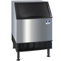 Manitowoc UY-0240A NEO 26 inch Air Cooled Undercounter Half Size Cube Ice Machine with 80 lb. Bin - 225 lb.