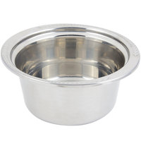 Bon Chef 5460 12 inch x 12 inch x 6 inch Stainless Steel 5 Qt. Casserole Laurel Design Food Pan