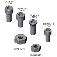 T&S 017903-45 Large Screw Kit for Hose Reels