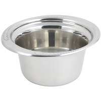 Bon Chef 5450 10 inch x 9 inch x 5 inch Stainless Steel 2 Qt. Casserole Laurel Design Food Pan