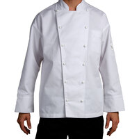 Chef Revival J023-5X Chef-Tex Size 64 (5X) Customizable Poly-Cotton Classic Chef Jacket
