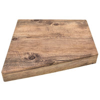 Elite Global Solutions M1514T Fo Bwa Faux Driftwood Melamine Sectional Riser - 15 inch x 10 inch x 14 inch x 2 1/2 inch