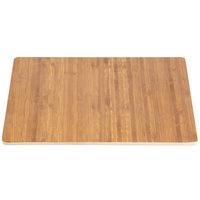 Elite Global Solutions M10 Fo Bwa Square Faux Bamboo Melamine Shelf - 10 inch x 10 inch x 5/8 inch